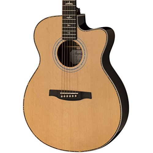 PRS Paul Reed Smith SE Angelus A40E Full Size Single Cutaway Acoustic/Electric Guitar with Hard-Shell Case