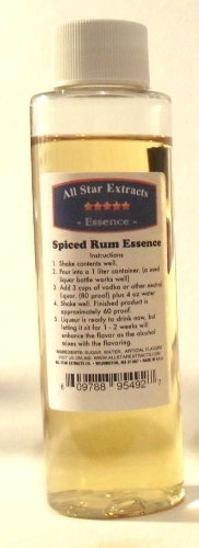 Spiced Rum Essence - Spiced Rum Essence (Similar to Captain Morgan) by All Star Extracts