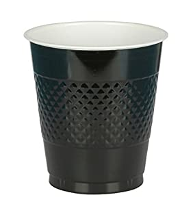 Big Party Pack Jet Black Plastic Cups | 16 oz. | Pack of 50 | Party Supply (B004UUK3X0) | Amazon price tracker / tracking, Amazon price history charts, Amazon price watches, Amazon price drop alerts
