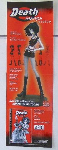 34 by 11 Inch Vertigo Comics Death Manga Statue Promo Poster (Death Promo Poster)