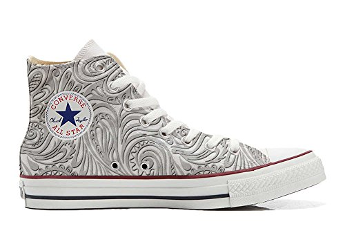Converse All Star Customized - Zapatos Personalizados (Producto Artesano) Light Paisley