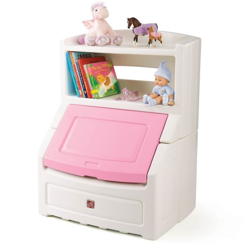 Step2 Lift And Hide Bookcase Storage Chest Amazonca Toys Games