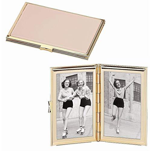 (Kate Spade New York Garden Drive Hinged Pocket Frame, Pink)