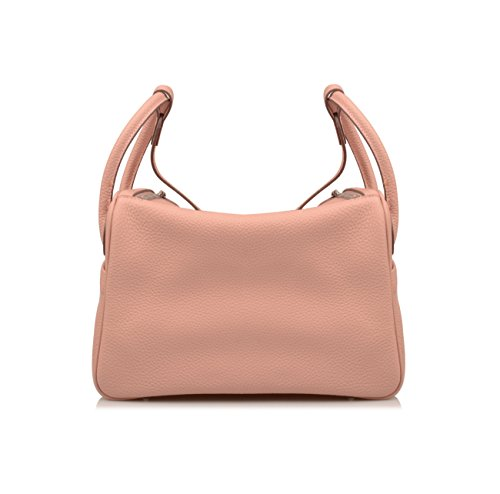 Leather Ainifeel Everyday Purse Pink Bag Hobo Women's Genuine Shoulder CrqEw4aCx