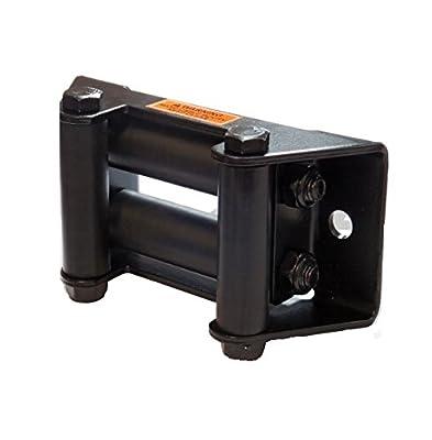 KFI Products Stealth POM Roller Fairlead - Wide (6.00in. Bolt Pattern) SE-WRF