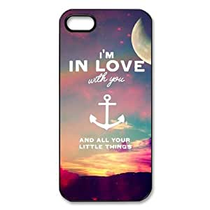 Refuse To Sink, Anchor Quotes iPhone Case for iphone 5/5s, Well-designed TPU iphone 5s Case