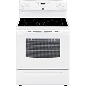 Kenmore 94172 5.3 cu. ft. Self Clean Electric Range in White, includes delivery and hookup (Available in select cities only)