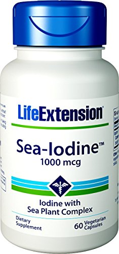 Sea-Iodine™ is a low-cost proprietary formula that health-conscious individuals can take each day to support optimal iodine levels. Using natural ingredients harvested from a blend of organic marine algae, Sea-Iodine™ brings you the health of the sea...
