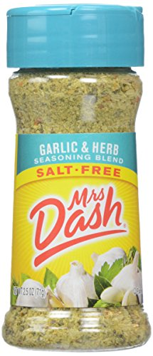 Mrs. Dash, Seasoning Blend, Garlic and Herb, Salt-Free, 2.5 Ounce (Garlic Bread Sauce)