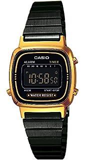 d7c5e7064e22e £98.98 Amazon Prime. Casio Collection – Women s Digital Watch with  Stainless Steel Bracelet – LA670WEGB-1BEF