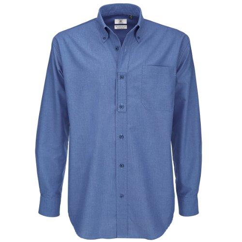 Oxford long sleeve/men COLOUR Blue Chip SIZE XL