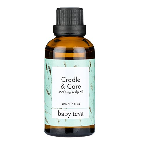 Cradle Cap Oil Treatment - Infant & Baby Remedy | Natural, Soothing, and Nourishing Dry Scalp Oil, by Baby Teva ()