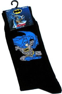 Para hombre Batman y su capa novedad calcetines tamaño 6 – 12