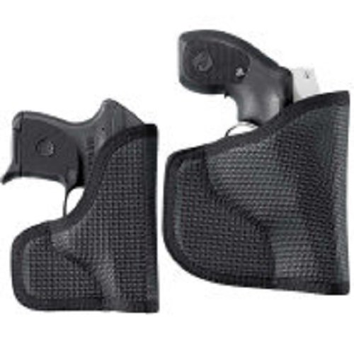 DESANTIS N38 The Nemesis Pocket Holster Ambidextrous Black J-Frm/LCR/SP101 Nylon N38BJN3Z0