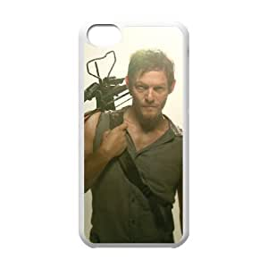 The Walking Dead 007 iPhone 5c Cell Phone Case White TPU Phone Case RV_595292