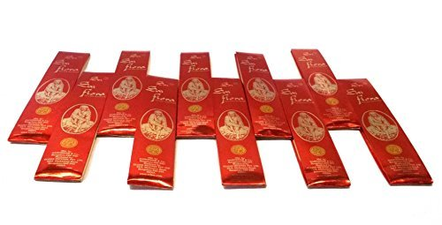 Sai Flora Incense Agarbati ~ 40 boxes (25 gms) bulk pack ~ Buy in bulk and save by Sai Flora