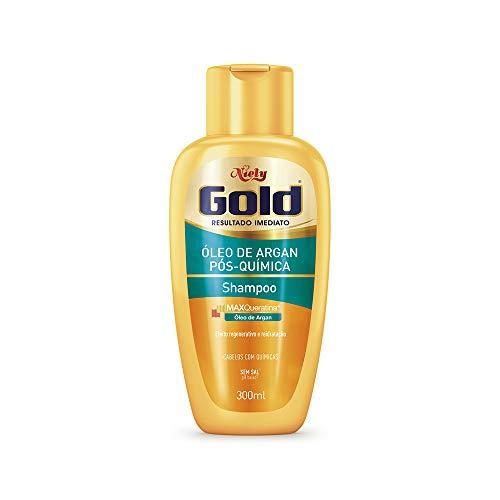 Gold Shampoo Argan Química Niely