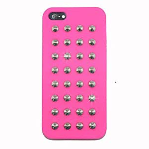 Punk Nails Silica Gel Back Case for iPhone 5/5S , 5