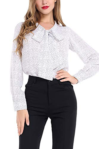 n Blouse Business Button Down Shirt for Work Casual with Long Sleeve ()