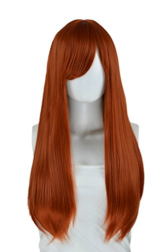 Epic Cosplay Nyx Copper Red Long Straight Wig 28 Inches (11CR) -