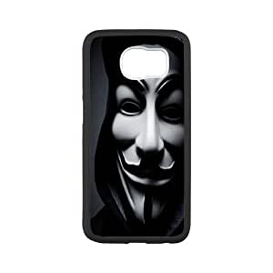 Printed Phone Case anonymous mask For samsung_galaxy_s7 edge N7100 M2X3112452