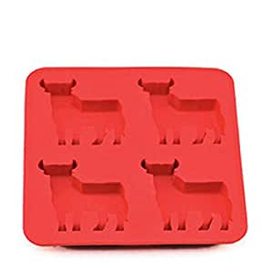 Bull Mold Silicone Mold Ice Tools Chocolate Ice Mould Random Diy home