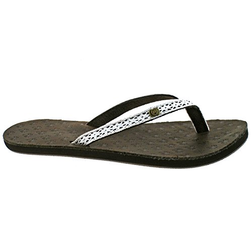 Iona Urban Flops Flops Marron Leather Beach iona Femme Tongs Flip 5WrrfqxF
