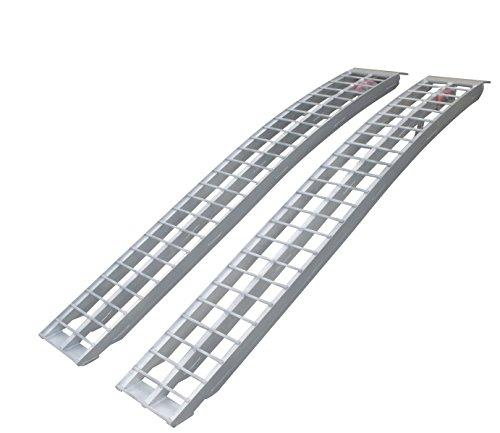 Erickson 07486 Silver 90 Long Aluminum Non Folding Arched