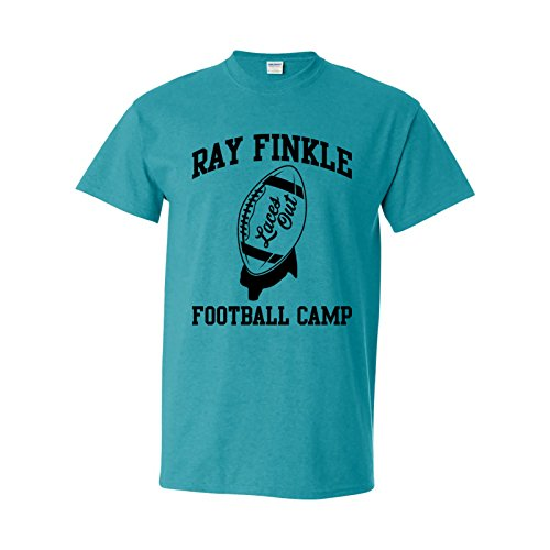 UGP Campus Apparel Ray Finkle Football Camp - Laces Out, Kicking Camp, Miami Football, Ace T Shirt - Medium - Antique Jade -