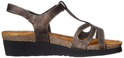 Naot Womens Rachel Leather Sandals Burnt Copper