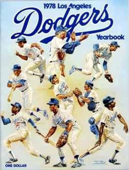 1978 Los Angeles Dodgers Yearbook