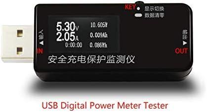 DC 3-30V USB Digital Power Meter Tester Multimeter Current and Voltage Monitor