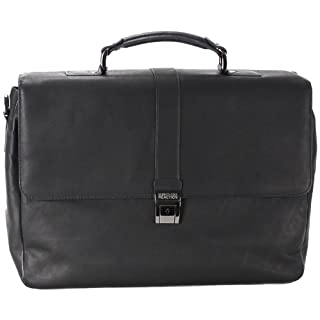 Kenneth Cole Reaction Flap-Ped A Photo Colombian Computer Ipad Business Case, Black, One Size