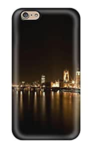 Iphone 6 Case Slim [ultra Fit] London Ferris Wheel Protective Case Cover