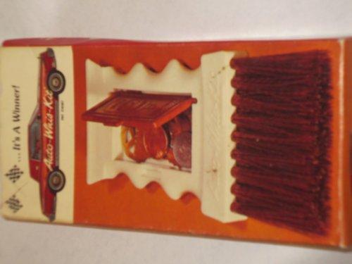4 n 1 handsize tool -- ice scraper, whisk broom, coin box, bottle opener -- New Old Stock