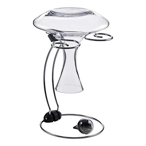 Wine Enthusiast Folding Glassware Drying Stand & Decanter Cleaning Beads (2 Piece Set), Holds One Wine Decanter and 2 Wine Glasses Review