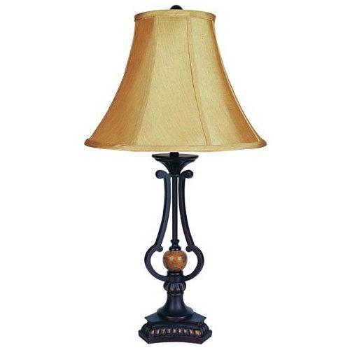 Ore International 28.5 Table Lamp - Antique Bronze
