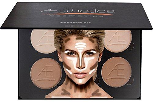 Aesthetica Cosmetics Contour and Highlighting Powder Foundation ...
