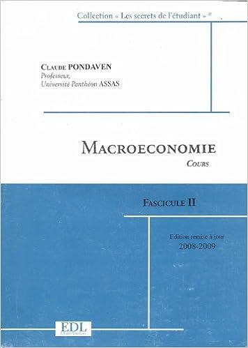 Lire en ligne Exercices de macroéconomie : questions de cours et exercices corrigés, annales résolues 2006-2007 pdf ebook