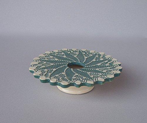 Doily Lace Ikebana Vase - Vases Lace