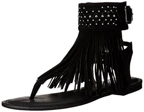 Not Rated Women's Cosmic River Dress Sandal, Black, 7.5 M US
