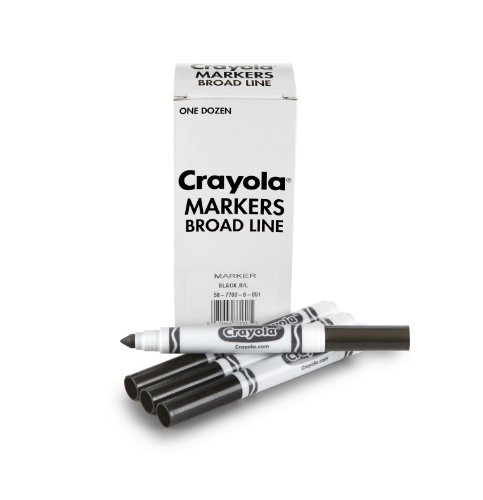 (Crayola 12 Count Black Original Bulk)