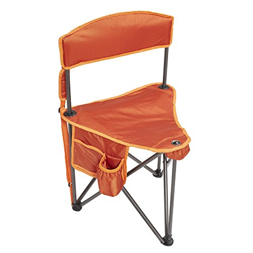 Lightspeed Outdoors Xtra Wide Tripod Lightweight Folding Camping Sports Chair (Orange)
