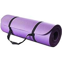 All Purpose Extra Thick High Density Yoga Mat, Purple