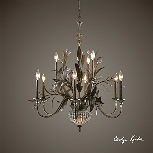 De Lisbon 9+2 Light Chandelier The Cristal Collection Chandeliers - De Collection Lisbon Cristal