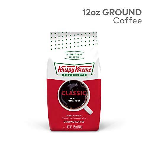 Krispy Kreme Classic, Ground Coffee, Medium Roast, Bagged, 12 oz