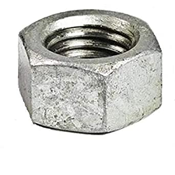 7//8-14 Thread Size Pack of 10 Pack of 10 Grade 5 7//8-14 Thread Size Small Parts FSC78FHN5P Medium-Strength Steel Hex Nut Fastcom Supply