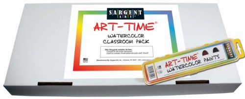 - Sargent Art 66-8001 36-Count Art-Time Washable Watercolor, Best Buy Assortment