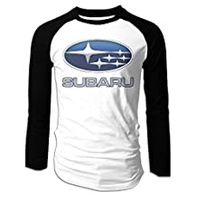 CAZUOSI Men's Subaru Long Sleeve Baseball T-Shirt
