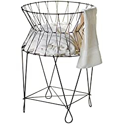 Vintage Wire Laundry Hamper, Hamper For Laundry